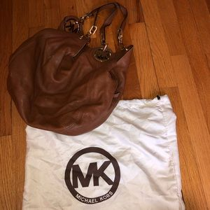 Michael Kors Tan/Brown Leather Bag